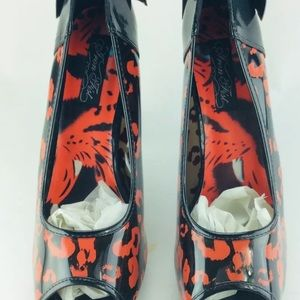 Iron Fist Shoes - Iron first peep toe heels